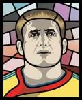 Caricaturi fotbalisti Euro 2008 - Dorin Goian - Euro 2008
